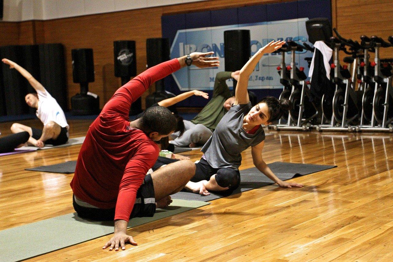 exercise, gymnasium, exercising